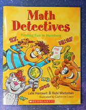 Math Detectives, Finding the Numbers, by Harcourt & Wortzman (Paperback,... - $6.85
