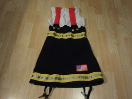Women's Fireman Sexy S Halloween Costume - $14.01