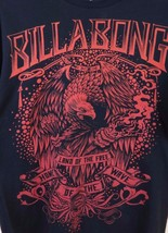 Billabong Graphic Land of the Free Home of the Wave T-Shirt Men's Size L... - $18.76
