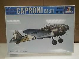 NEW MODEL- ITALERI MODEL KIT NO.113- CAPRONI CA-311- 1:72- NEW- W51 - $14.25