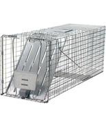 Woodstream Silver Havahart 1-door Large Animal Trap 32x10x12 Inch - $83.95