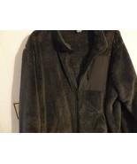 Men Coat Jacket XXL 2X Sweater Fleece Knit Zip Collar Pocket Solid Gray... - $23.77