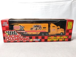 Racing Champions Joe Nemechek #87 NASCAR Burger King 1:64 Team Transport 1996 - $22.50