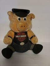 Vintage 1993 Official Harley Davidson Motor Cycles Play By Play Plush Ho... - $9.38