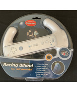 Wii Racing Wheel Connects To Wii Remote New - $8.54