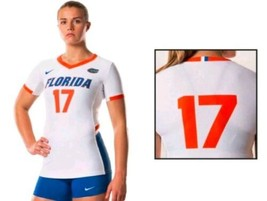 Nike Women's M Florida Gators Hyperace Short Sleeve Volleyball Jersey #17 $65 - $22.49