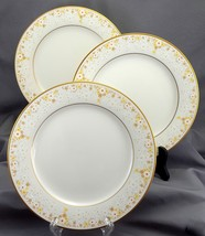 "Noritake Fragrance Salad Plates Set of 3 Ivory Yellow White Daisies 8.25"" 7025 - $19.86"