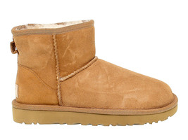 Ankle boot UGG Australia 6222 B in beige suede leather - Women's Shoes - €155,64 EUR