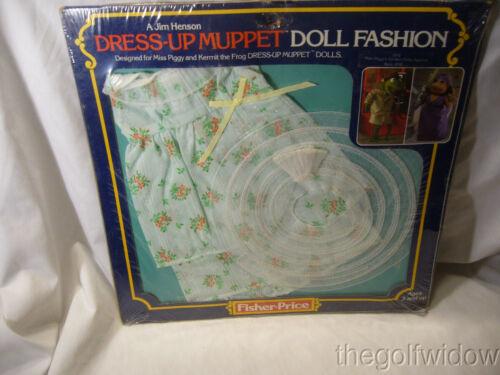 Fisher Price Muppet Dess Up Miss Piggy Garden Party no. 893