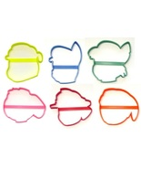Paw Patrol Cartoon Outline Faces Set of 6 Cookie Cutters USA PR1579 - $10.99