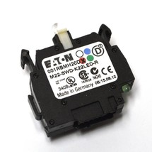New Eaton M22-SWD-K22LED-R Switch Contact Block 2 Pole - $36.46