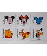 Walt Disney World Drink Coaster Lot 4in Mickey Minnie Tigger Pluto Winni... - $19.99