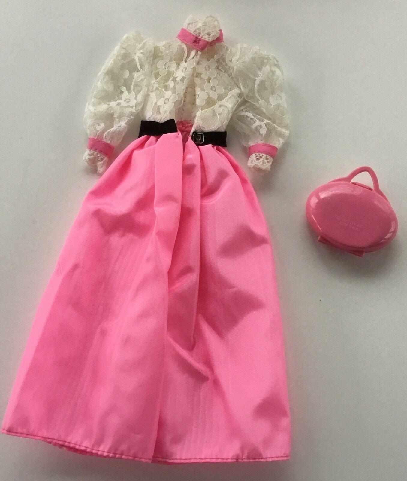 1982 Mattel Barbie Angel Face Dress, Makeup