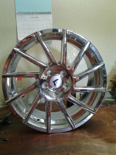"""KRAZE  KR181 18"""" Inch 5x112 Wheel Rim 18x8 +40mm CHROME (jew)"""