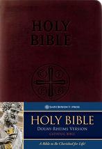Douay-Rheims Bible (Burgundy Premium UltraSoft)