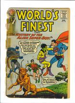 Worlds Finest Comics March 1962 Issue 124 Dc Comic Book Superman Batman - $4.99
