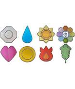 Bandai Gashapon Pocket Monster Badges Badges Can Tho All 8 Type Set - $65.00