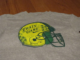 Boy's Nike youth helmet logo grey heather 2T Train the game football T shirt NEW image 2