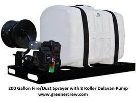 Skid Sprayer 200 Gallon Dust / Fire Sprayer Briggs and Stratton Engine   - $2,546.25