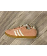 Adidas Courtset Suede Sneaker Womens Size 9.5 Pink Gum White F35767 - $45.00