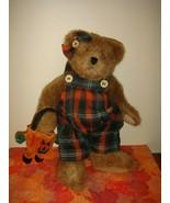 Boyds Bears Patsie Punkley Plush Halloween Bear - $27.49