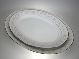 """Noritake Harwyn Oval Platters 12"""" & 14"""" Set of 2 - $22.68"""
