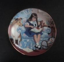 Danbury Mint Children of the Week Sunday's Child Plate w/box, no COA - $8.99