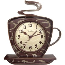 Westclox 32038 Coffee Time 3-Dimensional Wall Clock - $26.64