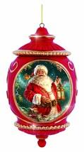 Santa Claus Precious Moments Ornament Porcelain Seasons So Bright NOS NWOB - $25.73