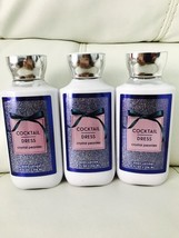 3 Bath & Body Works Cocktail Dress Crystal Peonies  Body Lotion 8 Oz Ful... - $24.70