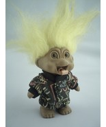 Troll dolls 1-TNT yellow hair and 1-RUSS Pink Hair with I Love You Sign ... - $18.42