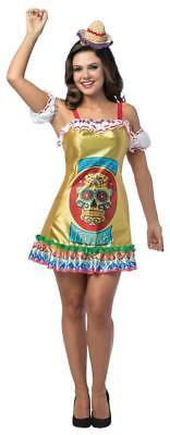 Tequila Womens Costume Dress Adult Alcohol Halloween Party Unique GC7598