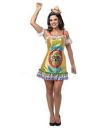 Tequila Womens Costume Dress Adult Alcohol Halloween Party Unique GC7598 - $55.99