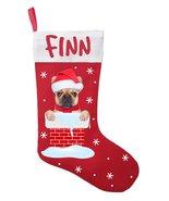 French Bulldog Christmas Stocking - Personalized French Bulldog Stocking... - $29.99