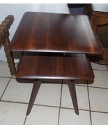 Solid Walnut Bissman Side Table / End Table  (RP-T522) - $314.10