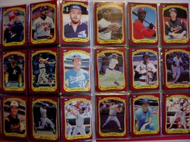 Complete Set 1986 Fleer Star stickers (132) in Pages and Folder - $17.50