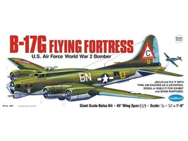 B-17G Boeing Flying Fortress Model Kit by Guillows  GUI-2002 - $90.76