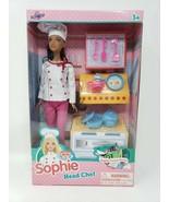 Lollipop Toys Sophie Career Series Head Chef - New - $22.99