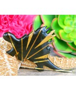 Vintage Dinosaur Stegosaurus Brooch Pin John Crutchfield Metallic Art - $19.95