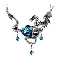 Draig O Gariad Necklace by Alchemy Gothic - $72.86