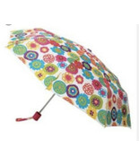 NEW DISCONTINUED Cynthia Rowley For Avon Flower Umbrella with Cover - $13.85