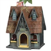 Thatch Roof Chimney Birdhouse - $44.00