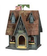 Thatch Roof Chimney Birdhouse - £31.86 GBP