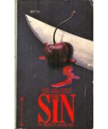 THE SIN - Robert Vaughan - Thriller - YOUNG TEASING SENSUAL WOMAN IS MUR... - $71.99