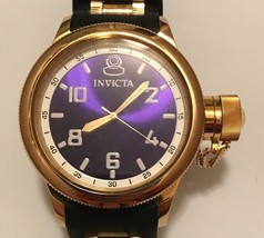 Men's Invicta Russian Diver Model 1437 Blue Dial Watch 81 - $125.00