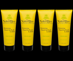 The Naked Bee Citron & Honey Hand & Body Lotion 6.7 oz Large Size Four T... - $43.55