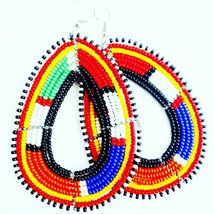 African Earrings | Earrings from Africa| African Earrings for Women|Colo... - $4.99