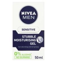 Nivea Men Sensitive Stubble Moistursing Gel 50ml - $18.95