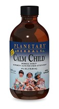 Planetary Herbals Calm Child Herbal Syrup - Includes Soothing Botanicals... - $22.90