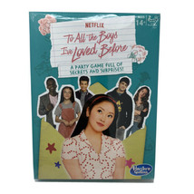 To All The Boys I've Loved Before Party Game Based on Netflix Show Ages ... - $18.50